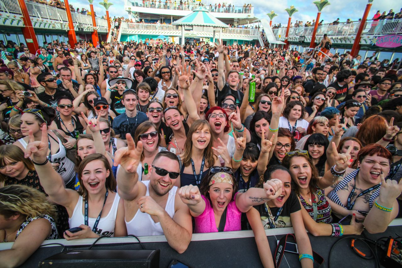 """MARCH 28, 2017 Millennial Marketing Insight from HypeLife Brands: """"Cruise Ships Adding Spin Classes and DJ sets to attract Millennials"""""""